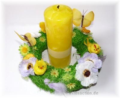 mit Kerze
